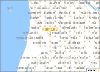 map of Rio Meão