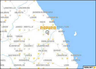 map of Río Purio