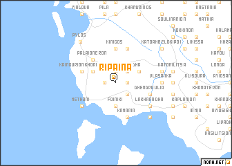 map of Rípaina