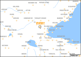 map of Riray