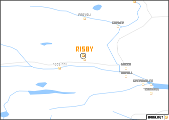 map of Risby