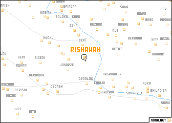 map of Rishāwah