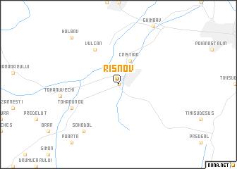 map of Rîşnov