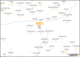 map of Risti