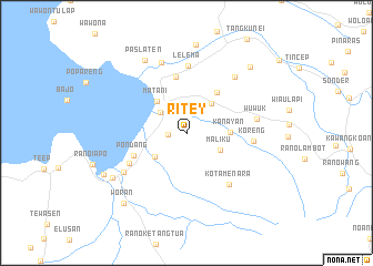 map of Ritey