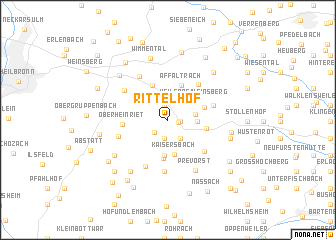 map of Rittelhof