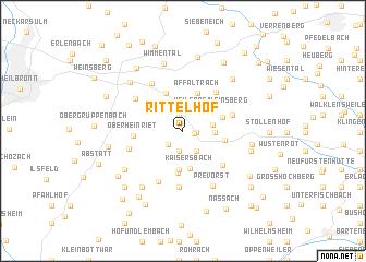 map of Rittelhof