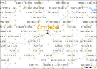 map of Ritterkamp