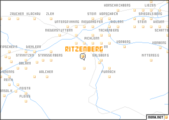 map of Ritzenberg