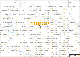map of Ritzendorf