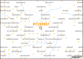 map of Ritzenedt
