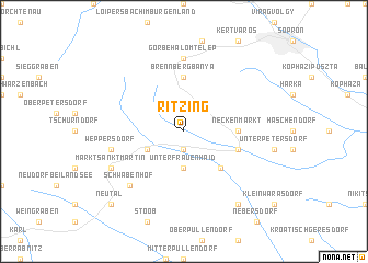 map of Ritzing