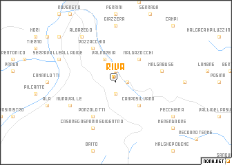 map of Riva