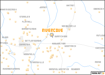 map of River Cove