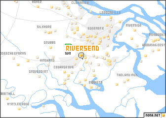 map of Rivers End