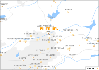 map of Riverview