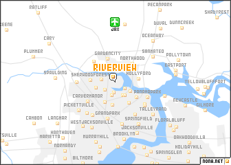 Riverview Florida Map.Riverview United States Usa Map Nona Net