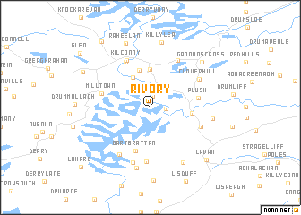 map of Rivory