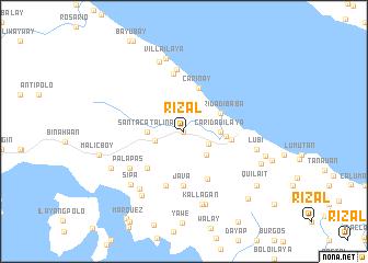 Rizal Philippines Map.Rizal Philippines Map Nona Net