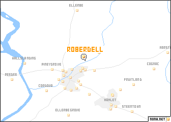 map of Roberdell