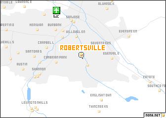 map of Robertsville