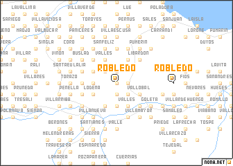 map of Robledo