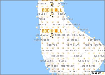Rock Hall Barbados map nonanet