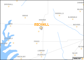 map of Rockhill