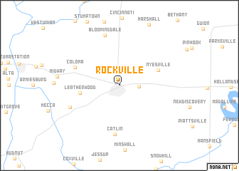 map of Rockville