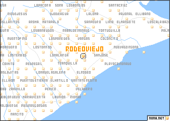 map of Rodeo Viejo