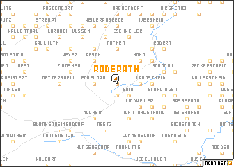 map of Roderath