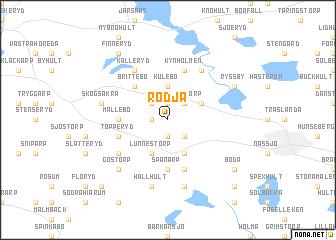 map of Rödja