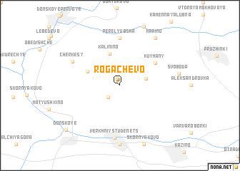 map of Rogachëvo