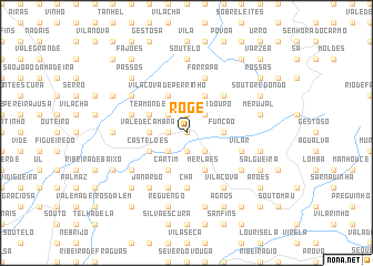 map of Roge