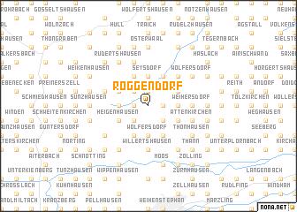 map of Roggendorf