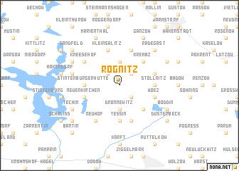 map of Rögnitz