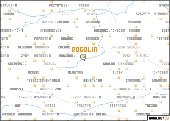 map of Rogolin