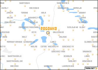 map of Rogówko