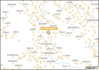 map of Rogoznik