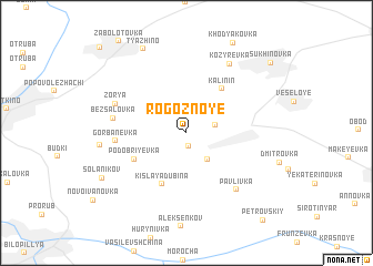 map of Rogoznoye