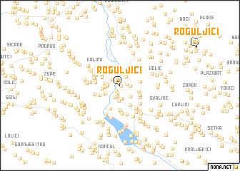 map of Roguljići