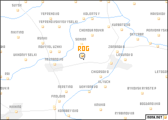 map of Rog