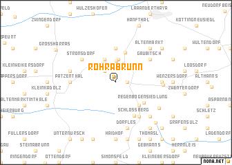 map of Röhrabrunn