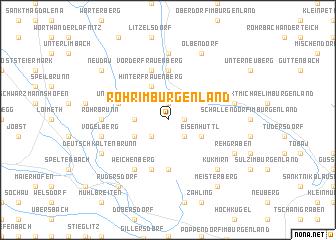 map of Rohr im Burgenland