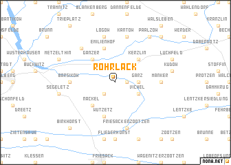 map of Rohrlack