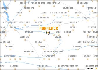 map of Rohrlack