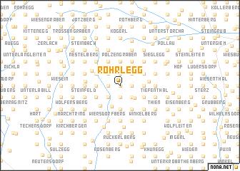 map of Röhrlegg