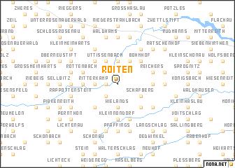 map of Roiten