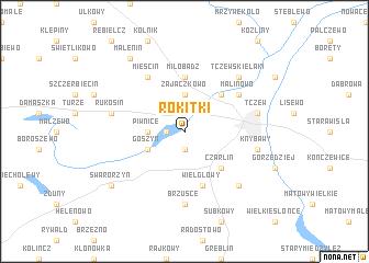 map of Rokitki