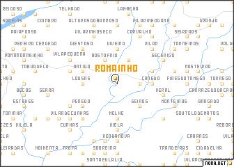 map of Romainho